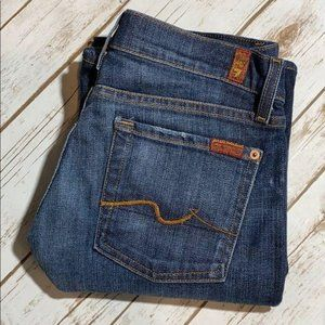 7 For All Mankind Jeans Boot Cut 28 x 32 Classic